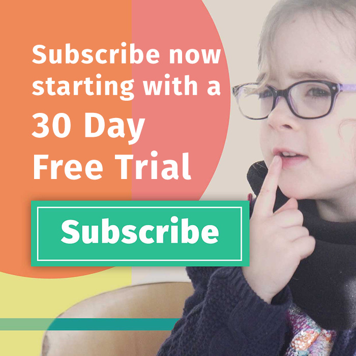 Sign up for your 30 day free trial